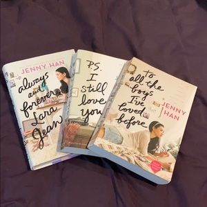 """Pre-Loved Jenny Han's """"To All The Boys"""" series"""